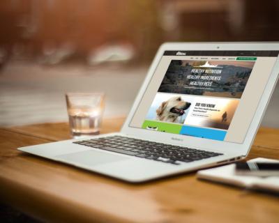 Boreal Pet Food Website Design